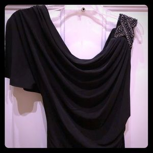"""""""Laundry by Shelli Segal"""" Black Evening Gown"""